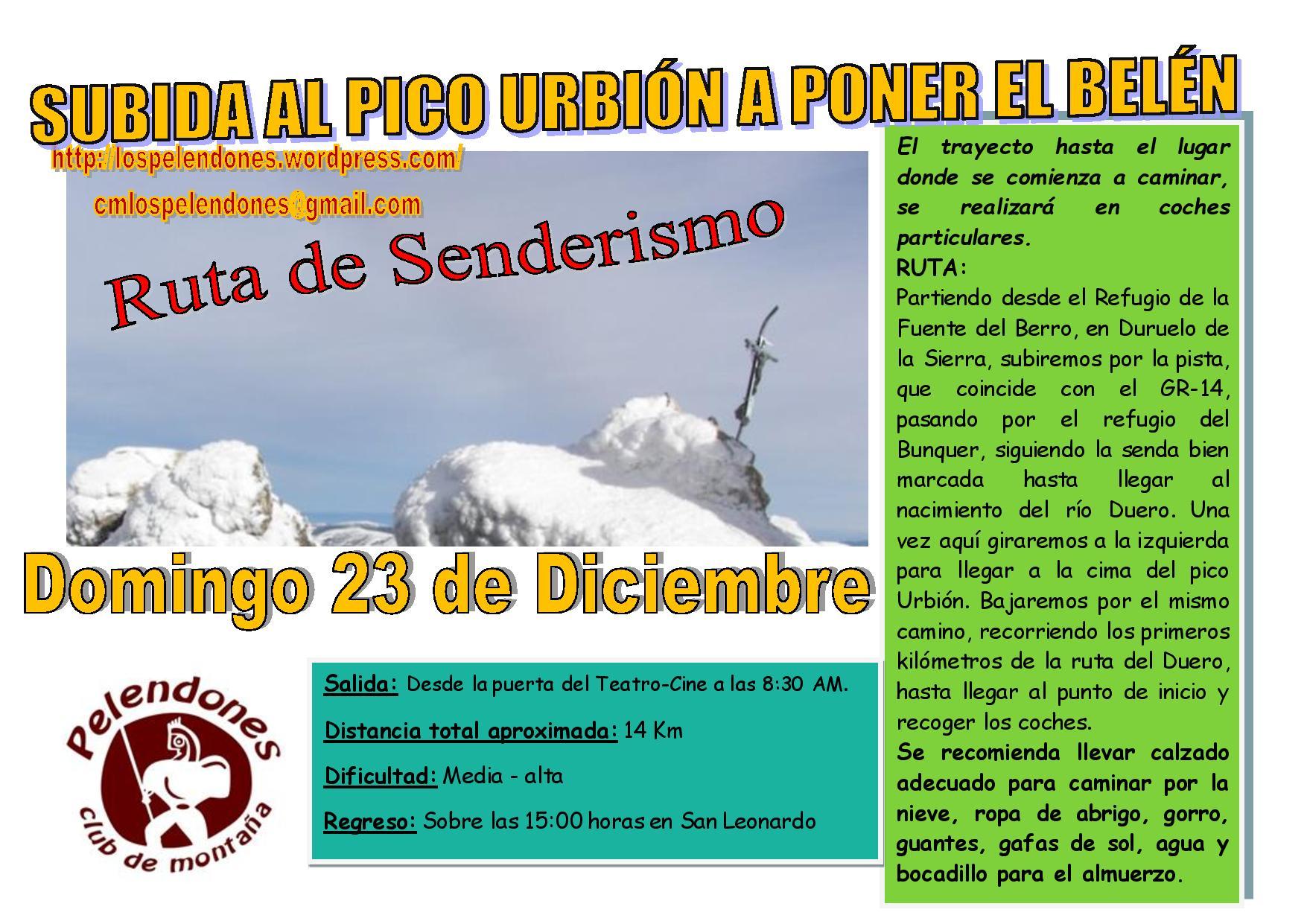 Cartel subida a poner el Belen al Urbión 2018-page-001