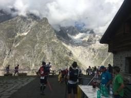 Vistas desde el Refugio Bonatti
